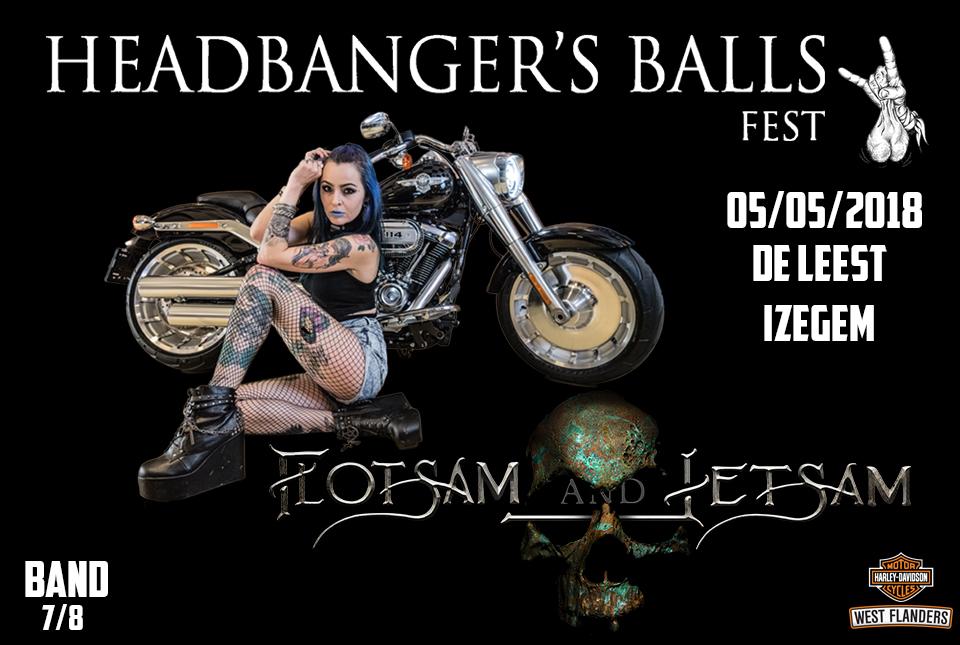 Headbanger's Balls Fest announces sub headliner: Flotsam and Jetsam by request