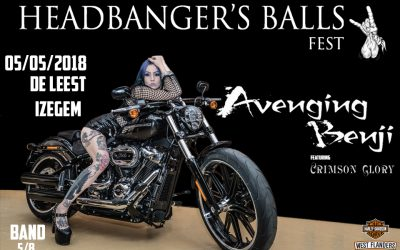 Avenging Benji featuring Crimson Glory's Ben Jackson and Wade Black – By request