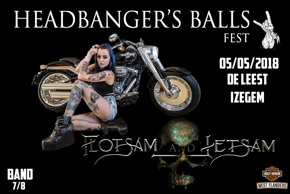Headbanger's Balls Fest announces sub headliner: Flotsam and Jetsam by request